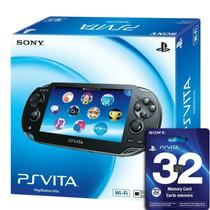 Ps Vita Psvita Wi-fi + Cartão 32gb Original Novo Lacrado
