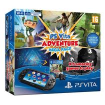 Sony Ps Vita Slim C/ 8gb E Mega Pack De 5 Jogos + Uncharted