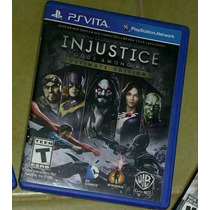 Ps Vita Jogo Injustice R$80,00