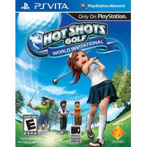 Jogo Novo Hot Shots Golf: World Invitational P/ Ps Vita