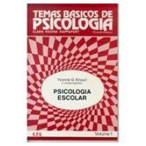 Psicologia Escolar Vol.1