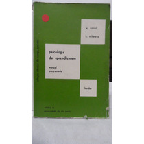Livro - Psicologia Da Aprendizagem - W Correll E H Schwarze