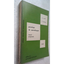 Livro Psicologia De Aprendizagem - W. Correl H. Scharwarze