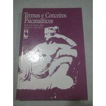 Termos E Conceitos Psicanalíticos - Burness E. Moore