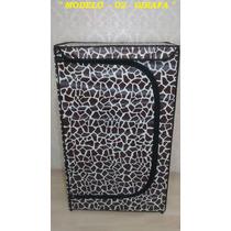 Sapateira De Madeira Personalizadas - Girafa -