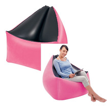 Poltrona Puff Sala Decorativo Inflavel Sofas Almofada Intex