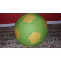 Puff Bola De Futebol Grande .várias Cores.frete Grátis.