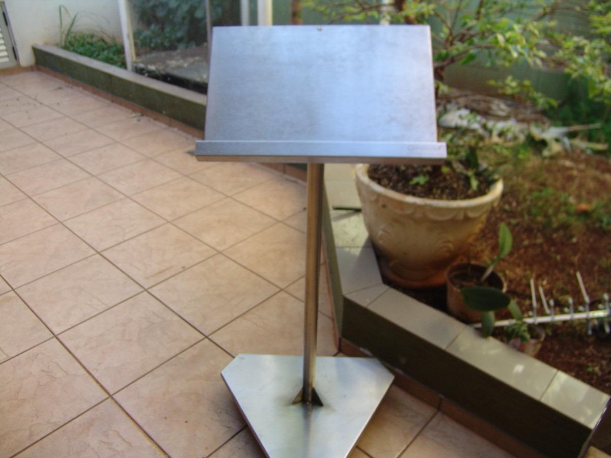Púlpito Pedestal R$ 330 00 no MercadoLivre #385E93 1200 900
