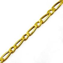 Monreale Pulseira Masculina Em Ouro 18k-750 Elos Grumet 1 X1