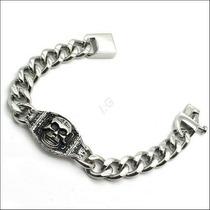 Pulseira Bracelete Em Aço Cirurgico - Masculina