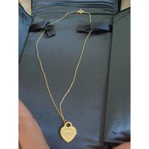 Tiffany Colar Ouro Amarelo 18k Coleção Return To Tiffany