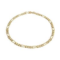 Pulseira Masculina Grumet 3x1 Oco Ouro18k - Leloeane 2562284