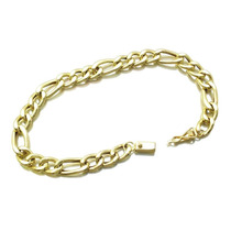 Pulseira Masculina 3x1 Ouro18k - Leloeane - 4222346