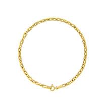 Pulseira Cartier Elos Fechados Ouro18k - 3111368 - Leloeane