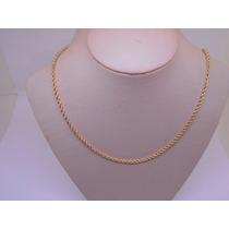 Lindo Cordão / Corrente Ouro 18k 750 - 8,9 Gr - 60cm
