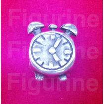 Pingente Berloque Charm Relógio Para Pandora Prata 925