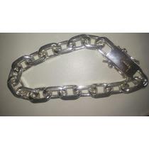 Pulseira Cadeado Em Prata 950.