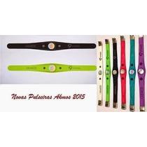Pulseira Bracelete Life Extreme Akmos Original O Designe