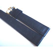 Pulseira Relógio 16mm Chainon Tipo Camaursa Preta