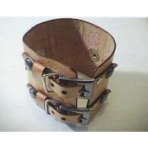 Pulseira Bracelete Em Couro - Estilo Sertanejos