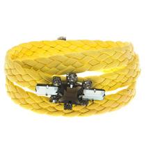 Tree Acessórios - Pulseira Cordão Mondrian Amarelo