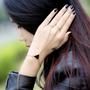 Bracelete Anel Pulseira Rock Gótico Triângulo