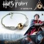 Pulseira Pomo De Ouro Harry Potter Quadribol Prata