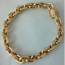 Pulseira Em Ouro 18 K 750, Modelo Cadeado Cartier