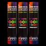 Pulseira De Neon Alto Brilho (sortida) - Tubo 100 Pulseiras