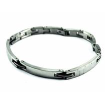 Pulseira/corrente/bracelete/algema Masculina Aço Guido