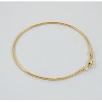 Pulseira Feminina Rabo Raposa 18cm Ouro 18k 750 Certificado