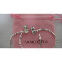 Pulseira Bracelete Pandora Vivara Life Prata 925