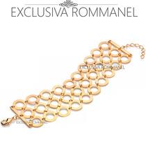 Rommanel Pulseira 30 Circulos + 10 Mandamentos 550661 550885