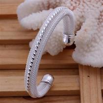 Lindo Bracelete Em Prata 925
