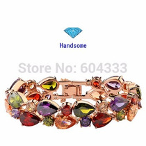 Pulseira Bracelete Banhado Ouro 18k Importada