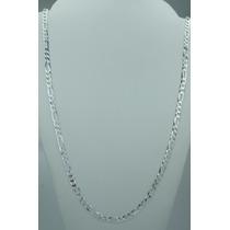Conjunto Corrente E Pulseira Em Prata 925 3x1 Masculina