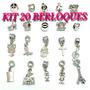 Kit 20 Berloques Pandora Moments Vivara Life