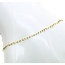 Pulseira Elo Cartier 24cm Em Ouro Amarelo 18k J8798