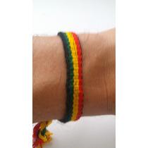 Kit 2 Pulseira Reggae Mais Frete Gratis Tipo Bob Marley