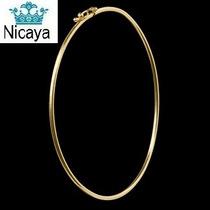 Nicaya Pulseira Bracelete Ouro 18k-750 C/ Trava De Segurança