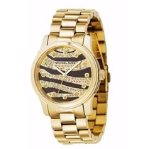 Relógio Michael Kors Mk5126 Animal 100% Original Lançamento