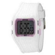 Relógio Mormaii Yp8399 Branco C/ Rosa