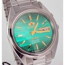Orient Automático 21 Jewels Prova Dágua 30m Fem0401sf9 --