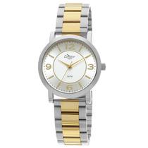 Relógio Feminino Prata E Dourado - Kt76062/5b Condor