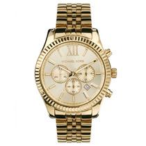 Relógio Luxo Michael Kors Mk8281 Orig Chron & Anal