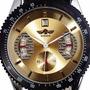 Relógio Importado Vencedor De Aço Inoxidável Marca Winner.