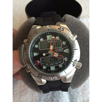 Relógio Citizen Aqualand Jp-1060 Novo Na Cxa