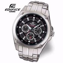 Relógio Casio Edifice Ef-330sb-1avdf 12x Sem Juros