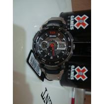 Relógio Xgames Xmpsa029 P2sx Masculino Pulseira Aço