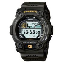 Relógio Casio G-shock G-7900-3 Gshock G7900 Verde Graf Marés